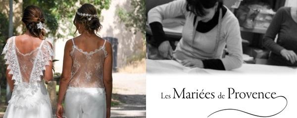 Les robes de mariées bohemes chic de la marque Les Mariees de Provence Nice Alpes Maritimes 06