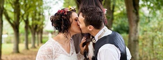 Shooting publié sur le blog anglais French Wedding Style
