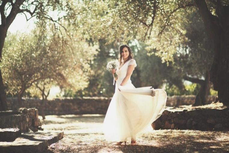 Blog «Queen for a Day» : le reportage photos de Marie dans sa robe Elsa Gary