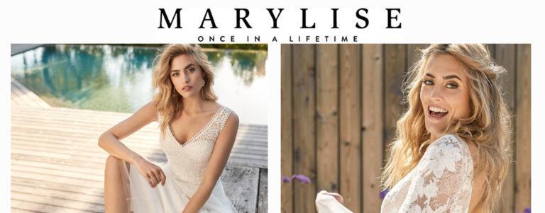 La nouvelle collection Marylise: du renouveau dans la robe de mariée