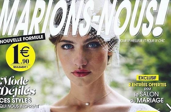 Marions-nous Magazine: Elsa Gary à l'honneur