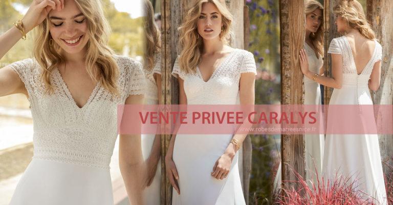 Une Vente Privée de robes de mariées ? Chez Caralys, évidemment !