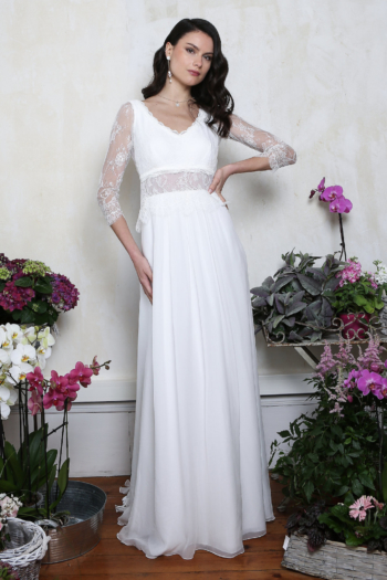Robe de mariée rétro Argentine Elsa Gary