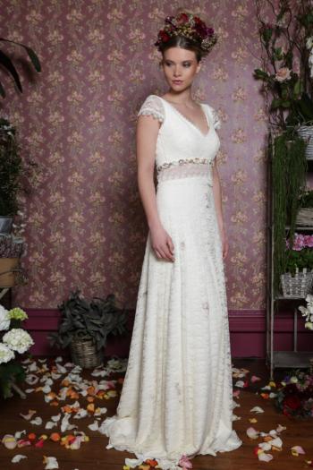 Robe de mariée rétro Coquelicot Elsa Gary
