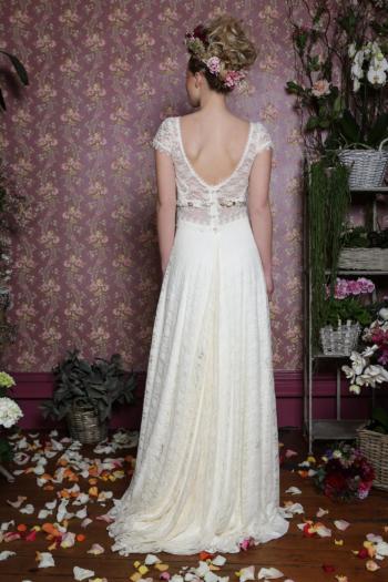 Robe de mariée rétro Coquelicot