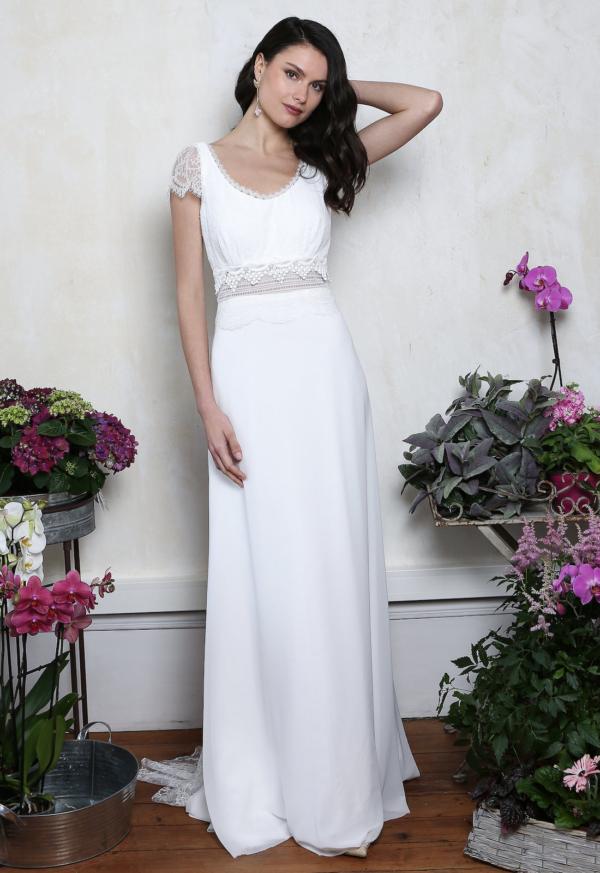Robe de mariée rétro Elysée Elsa Gary