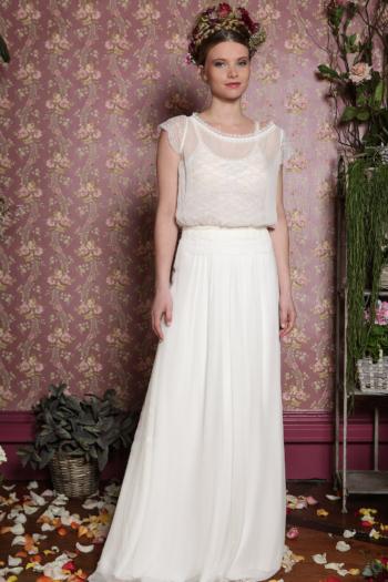 Robe de mariée rétro Magnolia Elsa Gary