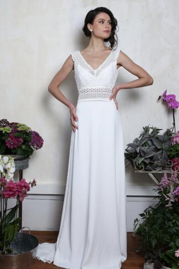 Robe de mariée rétro Montmartre Elsa Gary