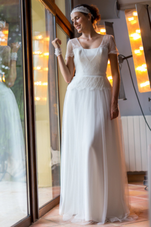 Robe de mariée rétro Clara