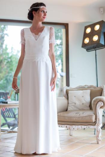 Robe de mariée rétro Emeline