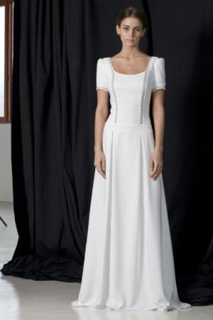 Robe de mariée rétro Huppert Lambert Créations