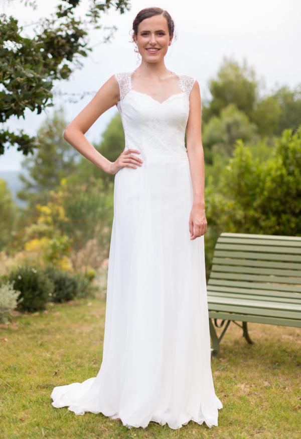 Robe de mariée rétro Renouée