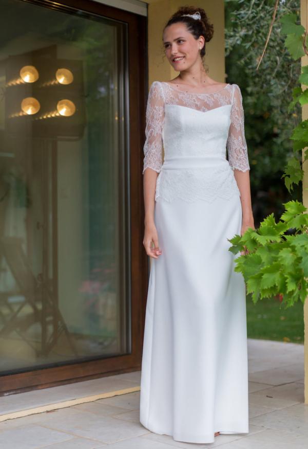 Robe de mariée rétro Rodica
