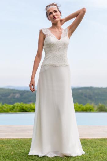 Robe de mariée rétro Santorin