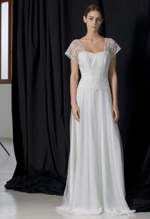 Robe de mariée bohème Hattaway Lambert Créations