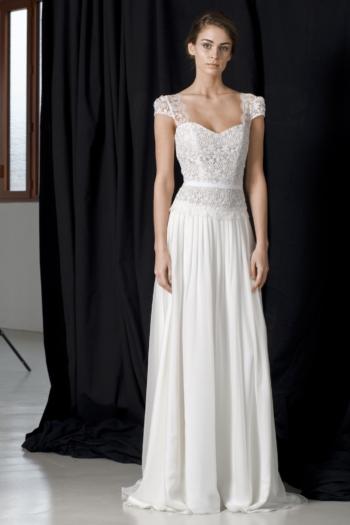 Robe de mariée bohème Schneider Lambert Créations