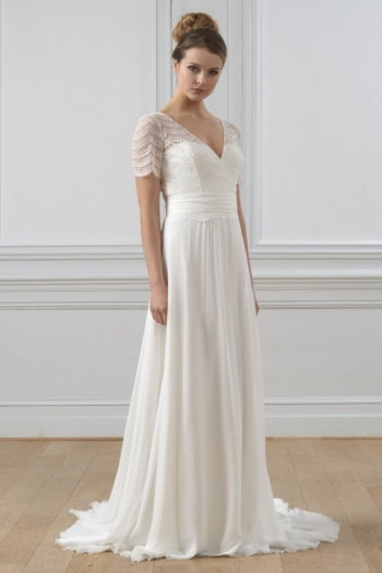 Robe de mariée bohème Swan Lambert Créations