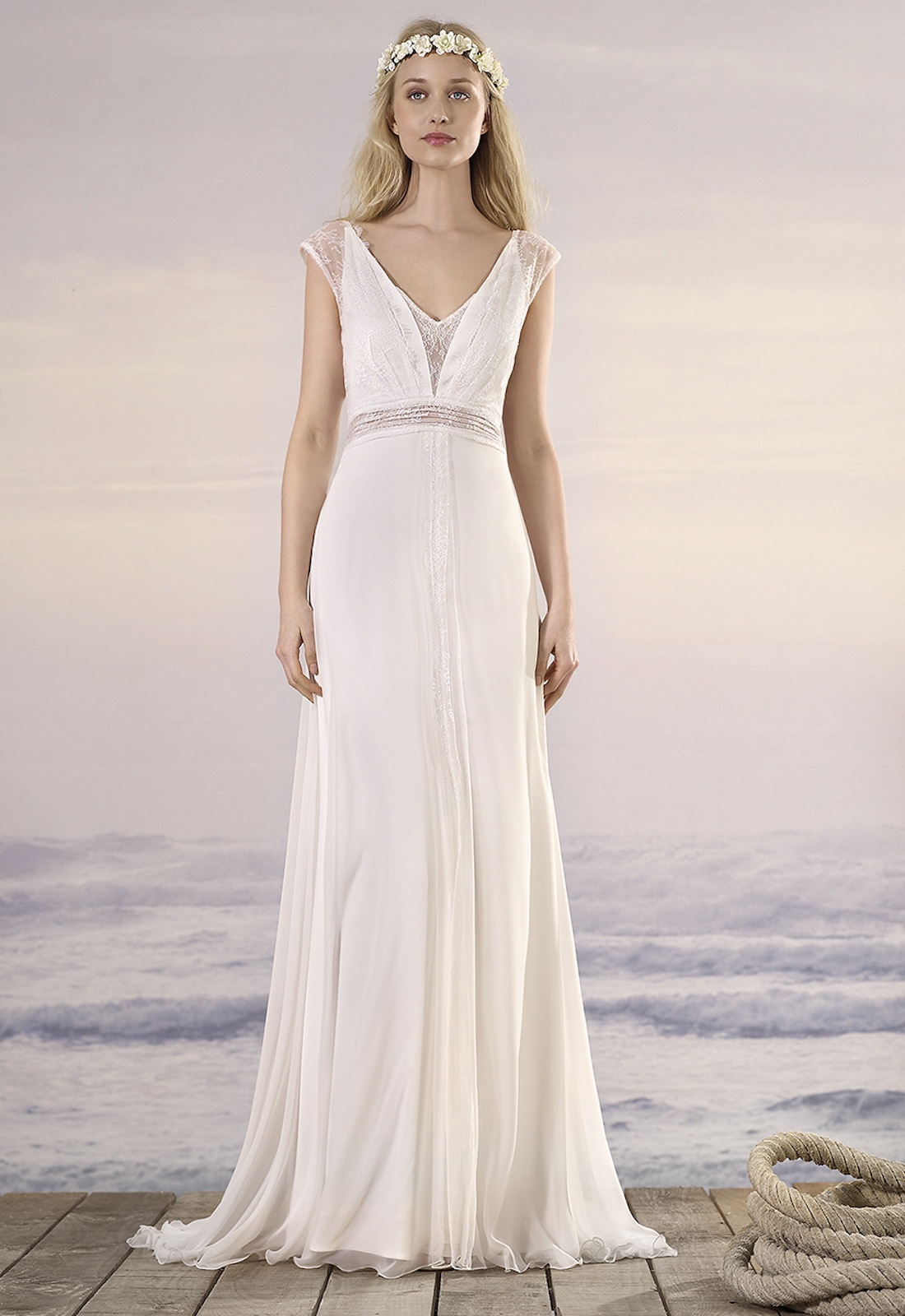 Robe De Mariee Boheme Eve Marylise Caralys Mariage Nice 06