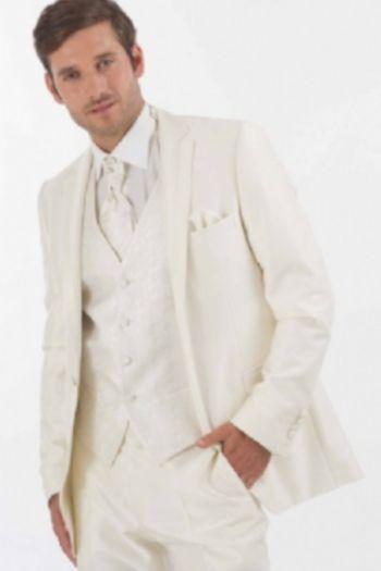 Costume de marié ivoire Hit soldé