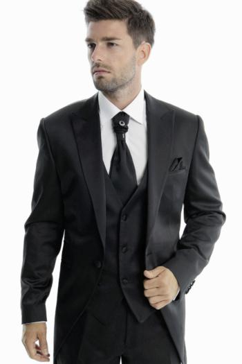 Costume de mariage 5 pièces coordonnées noir