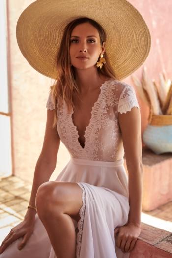 Robe de mariée bohème Amor Marylise