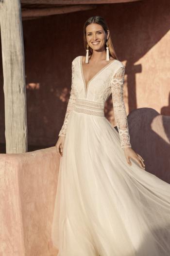 Robe de mariée bohème Donatienne Marylise
