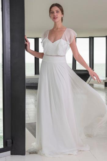 Robe de mariée bohème Cassis Lambert Créations