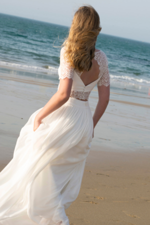 Robe de mariée bohème Granville Lambert Créations