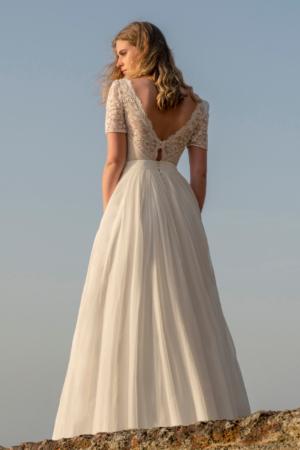 Robe de mariée bohème  Le Palais Lambert Créations