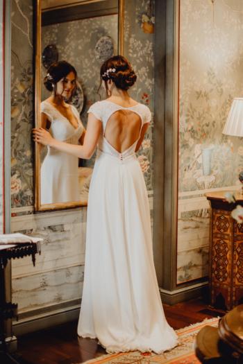 Robe de mariée rétro Agathe Elsa Gary