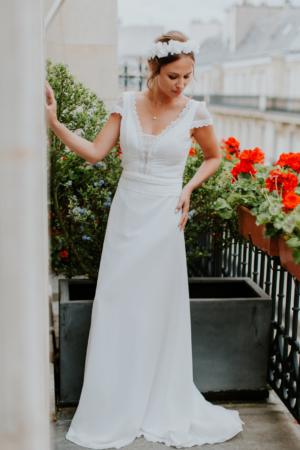 Robe de mariée rétro Florence Elsa Gary