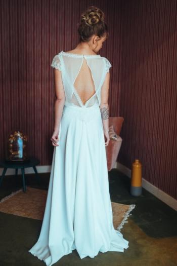 Robe de mariée rétro Isabelle Elsa Gary