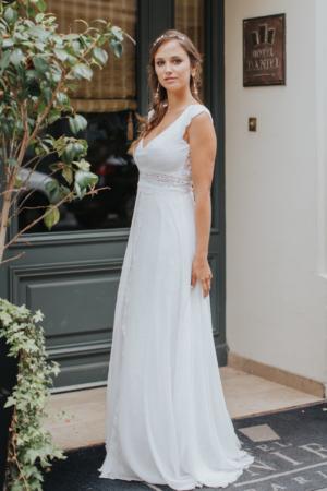 Robe de mariée rétro Pauline Elsa Gary