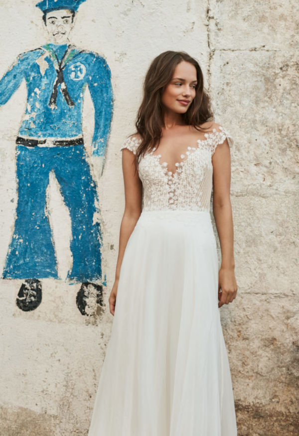 Robe de mariée bohème Alex Anna Kara