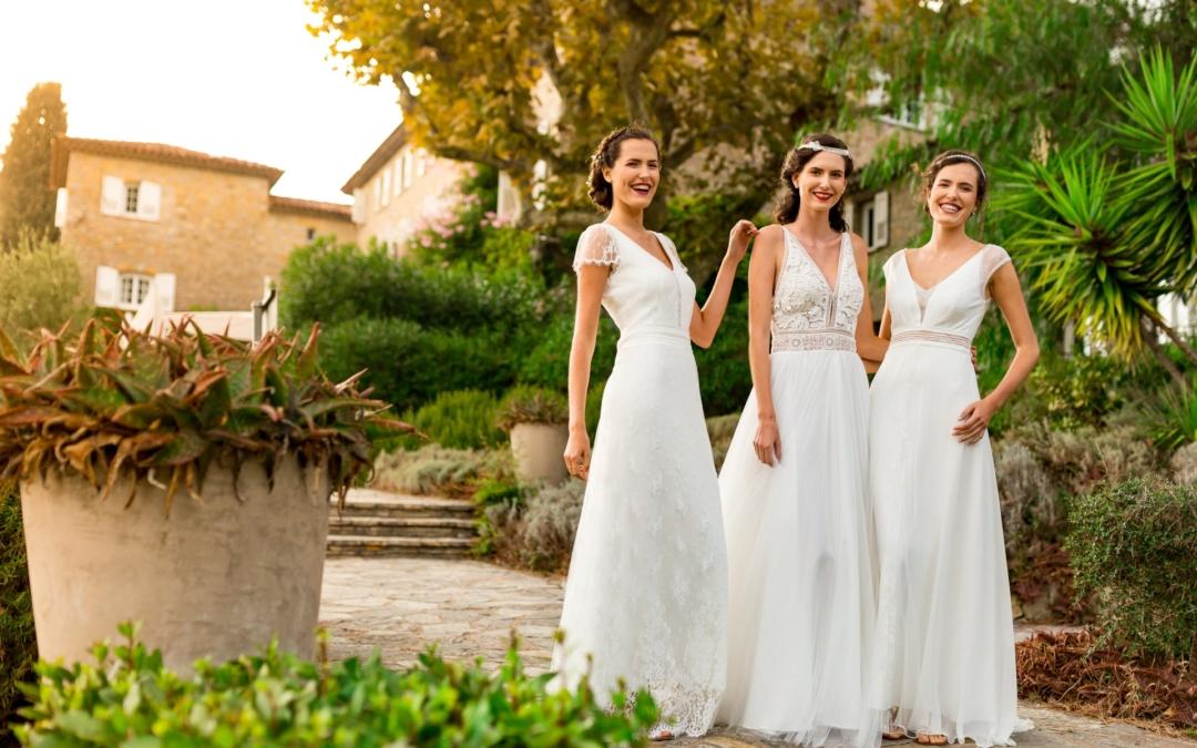Robes de mariée boheme 2020 : shooting au Manoir de l'Etang