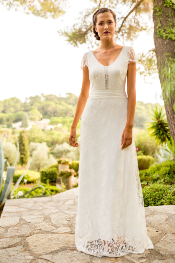 Robe de mariée bohème Ecume Marylise
