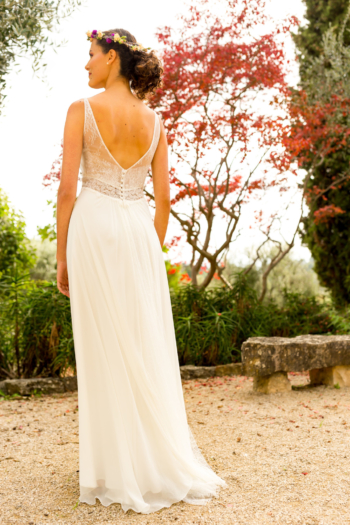 Robe de mariée bohème Emmeraude Marylise