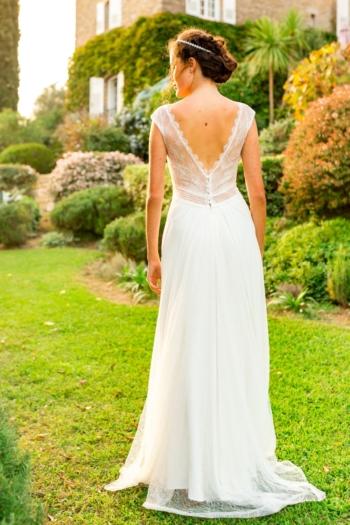Robe de mariée bohème Eve Marylise