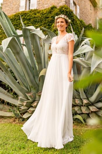 Robe de mariée bohème Gloria Marylise