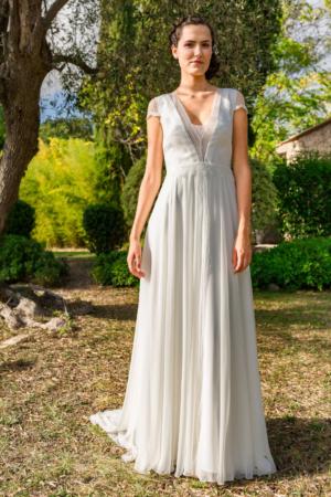 Robe de mariée bohème Joie de vivre Marylise