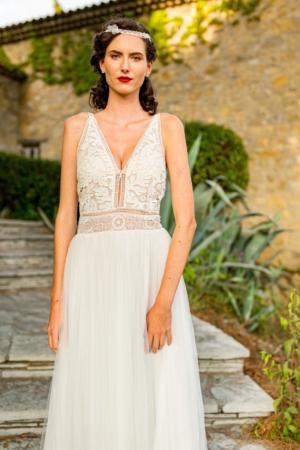 Robe de mariée bohème Louanne Marylise