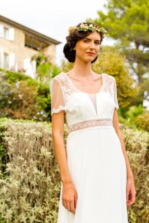 Robe de mariée bohème Un brin de toi Marylise