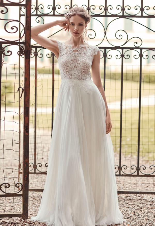 Robe de mariée bohème Grisel Anna Kara