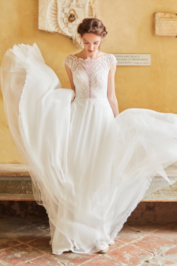 Robe de mariée bohème Shiloah Anna Kara