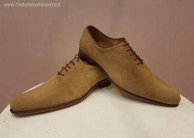 11866 beige - Chaussures personnalisables en cuir - Caralys Nice - Alpes Maritimes (06)