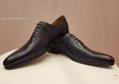 9679 bordeaux - Chaussures personnalisables en cuir - Caralys Nice - Alpes Maritimes (06)