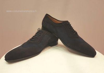 11867-bleu - Chaussures personnalisables en cuir - Caralys Nice - Alpes Maritimes (06)