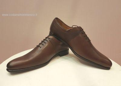 11869-marron - Chaussures personnalisables en cuir - Caralys Nice - Alpes Maritimes (06)