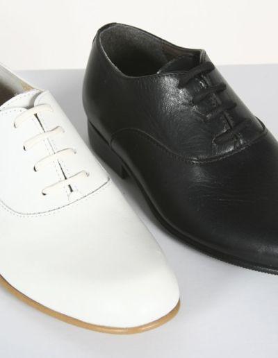 Chaussures petit garçon ivoire, noir - Caralys Nice - Alpes Maritimes (06)