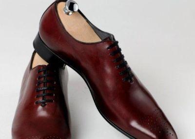 8381 Bordeaux - Chaussures personnalisables en cuir - Caralys Nice - Alpes Maritimes (06)